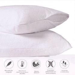 Set-2-Protector-Almohada-King-Impermeable-Bambu-Blanco