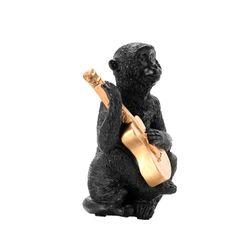 Figura-Mico-Guitarra-Negro-Dorado