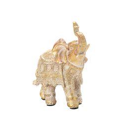 Figura-Elefante-Linie-Dorado